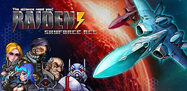Raiden Sky Force Ace: Use your uber piloting skills to fly through the