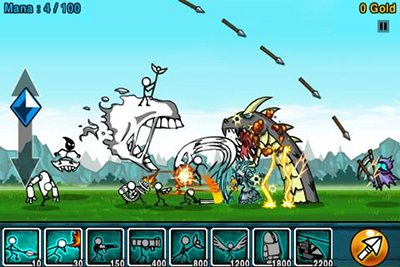 Stickman Defense: Cartoon Wars APK Free Strategy Android ...