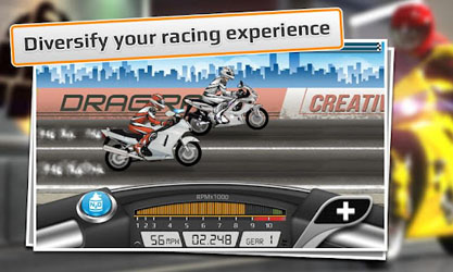 Thundercatmile Tune on Android Games Drag Racing Bike Edition Screenshot 1