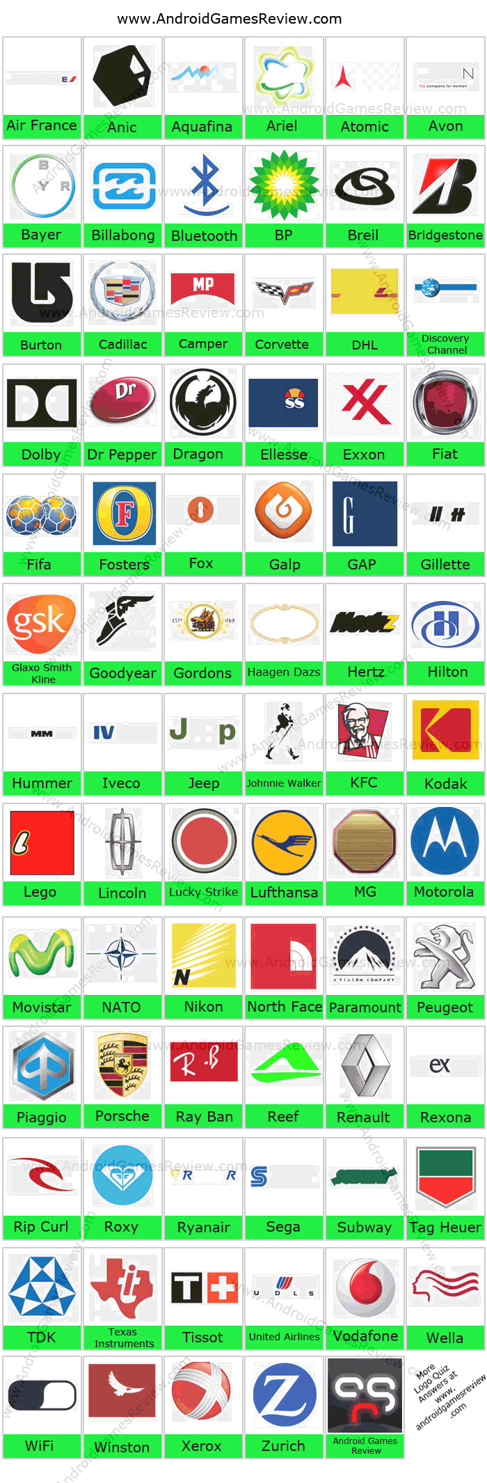 ... with new logo quiz answers if the developers update their games