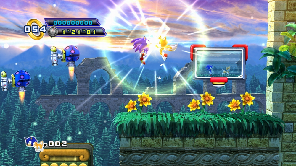 Tails limited to 2 player mode in sonic 4: episode 2 – the sonic.