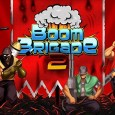 Boom Brigade 2: Lay waste on the rampaging alien horde! Most readers would have played Flight Control and probably seen Gun Brothers, but what happens when you mash these games...