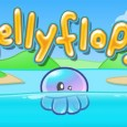 Jelly Flop: Help the poor and helpless ocean critter fulfil his dreams to fly!  Concrete Software are living up to their name by delivering a solid and thoroughly entertaining Physics...