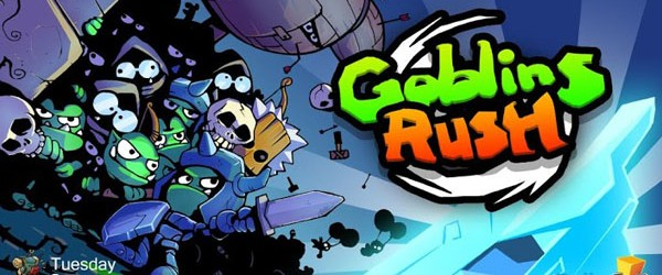 Goblins Rush! : Cast your magic to protect the manacrystals… TuesdayQuest are one of our favourite developers who regularly put out stylish cartoon games.  In addition to creating a whole...
