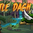 Turtle Dash: You're a turtle with wings!  Yes, you are now a new mythical creature that is going through a dangerous jungle filled with spikes to save your baby turtles...